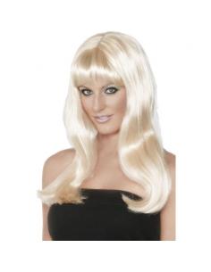 Perruque mystique blonde | Accessoires