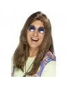 Perruque Hippie Neil marron | Accessoires