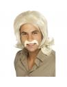 Perruque rétro homme blond   Accessoires