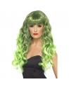 Perruque sirène verte et noire frisée | Accessoires
