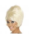 Perruque lady années 60 blonde | Accessoires