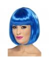 Perruque partyrama bleu fluo | Accessoires