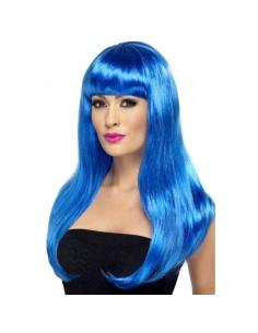 Perruque babelicious bleue   Accessoires