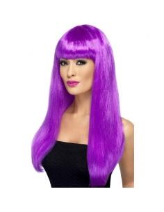 Perruque babelicious violette   Accessoires