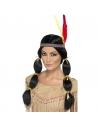 Perruque indienne avec bandeau | Accessoires