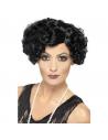Perruque femme charleston noire | Accessoires