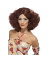 Perruque afro femme années 70 auburn | Accessoires