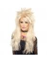 Perruque rockeuse blonde | Accessoires