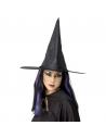 Chapeau de sorcière noir brillant | Accessoires