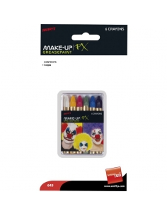 6 crayons maquillage Carnaval   Accessoires