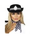 Chapeau feutre noir de policière | Accessoires