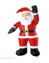 Grand Père Noël Gonflable et Lumineux - 244 cm