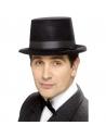 Chapeau haut de forme noir floqué | Accessoires