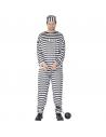 Déguisement prisonnier noir et blanc | Déguisement Homme