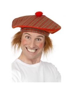 Béret écossais avec cheveux | Accessoires