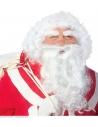 Set Prestige de Père Noël en boite (perruque, barbe, moustache et sourcils)
