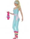 Déguisement Licence Barbie Gym -bleu ©