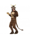 COSTUME  ADULTE  DÉMON  KRAMPUS  DE  LUXE  BRUN