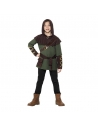 Déguisement Robin des bois (tabard, ceinture et pélerine à capuche)