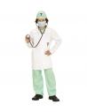 DOCTEUR (chemise, pantalon, blouse, coiffe, masque, stetoscope)