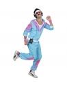 Déguisement Survêtement Années 80' Bleu (veste, pantalon)