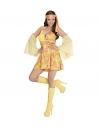 70s GIRL yellow - (robe et brassards en voile)