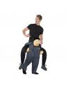 Déguisement adulte piggyback porté par un dictateur