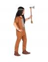 Déguisement indien garçon marron (chemise, pantalon, bandeau)