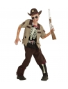 SHERIFF ZOMBIE (chemise, pantalon, chapeau)
