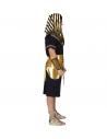 PHARAON (tunique, ceinture, collier, bracelets, casque)