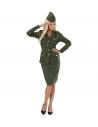 """FEMME SOLDAT WW2"" (veste, jupe, chapeau)"