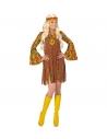 FEMME HIPPIE (robe avec veston, bandeau, collier peace & love)