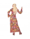 Déguisement hippie femme (robe longue, multicolore)