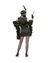 CHARLESTON ANNEES 20 (robe or ou noire, bandeau avec plume)