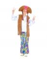 """""""WOODSTOCK HIPPY FILLE"""" (chemise avec veste, pantalon, chapeau avec cheveux)"""