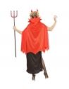 """""""DEMON"""" (robe, cape, cornes"""