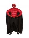 Déguisement Démon Adulte (chemise muscles, cape)