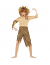 Déguisement enfant de la jungle (costume avec muscles, bandeau)