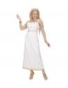 Déguisement Déesse Grecque Femme blanc (robe, couronne de laurier)