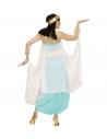 REINE EGYPTIENNE (robe, ceinture, col, manchettes, coiffe, cape)