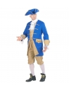 """""""COLONIAL"""" (veste avec gilet, jabot, pantalon, chapeau, boucles pour chaussures)"""
