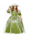 Robe de Princesse verte Enfant (robe avec jupon, chapeau)
