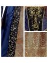 REINE MEDIEVALE (robe avec jupon crinoline, couronne)