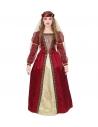 PRINCESSE MEDIEVALE (robe avec jupon crinoline, bandeau avec voile)