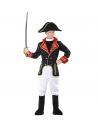 Déguisement Napoléon Garçon (veste, pantalon, couvre-bottes, chapeau)