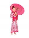 PRINCESSE ASIATIQUE (kimono avec ceinture, coiffe)
