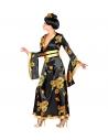 GEISHA FEMME (kimono noi et or, ceinture)