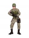Déguisement Marin Commando Enfant (manteau, veste, pantalon, ceinture, bourse, casque)