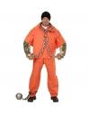 PRISONNIER TATOUE (chemise, bras musclés tatoués, pantalon)