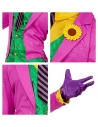 CLOWN MALEFIQUE (manteau avec chemise et gilet, pantalon, cravate, gants)